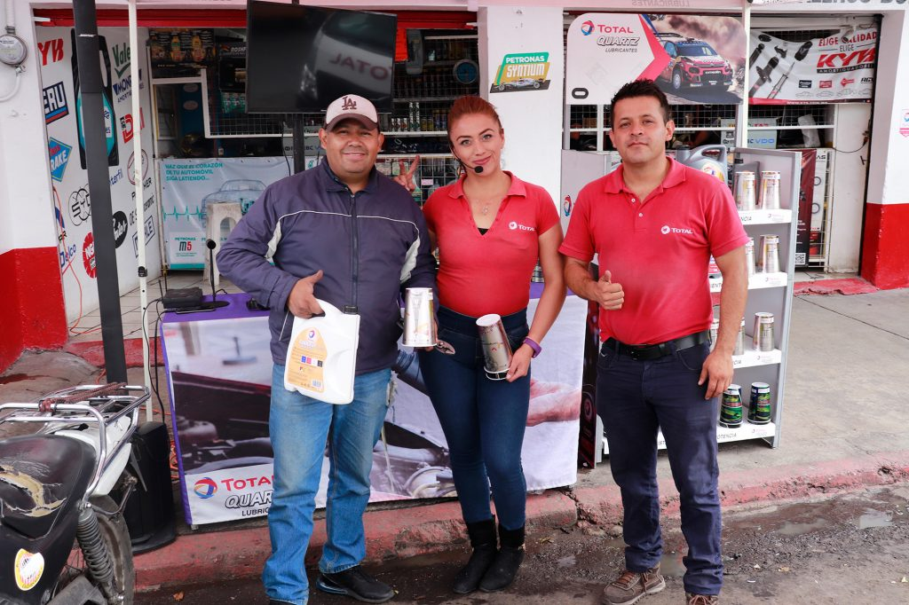 Campaña Total Road Show